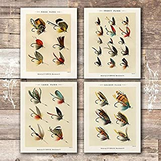 Best vintage fly fishing prints Reviews