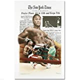 """Frazier Floors Ali"" FINE ART POSTER (26.5"" x 36.5"") of Heavyweight Champ Muhammad Ali!"