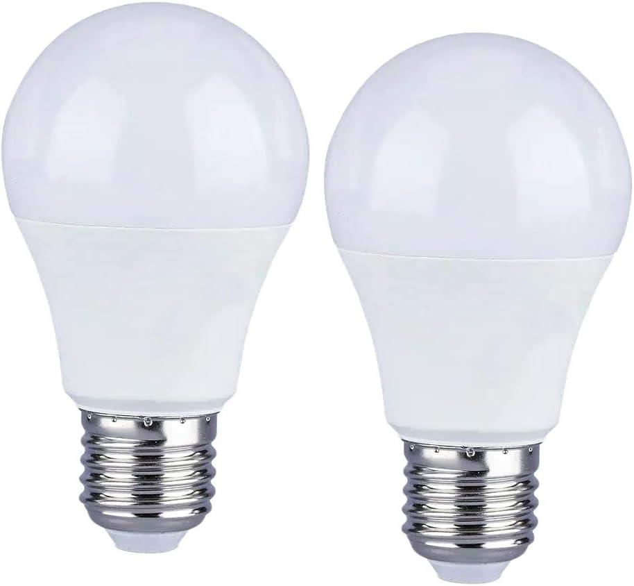 LEDLUX 2 piezas Lámpara Led E27 Regulable 12W 1055 Lumen Blanco (3000k)