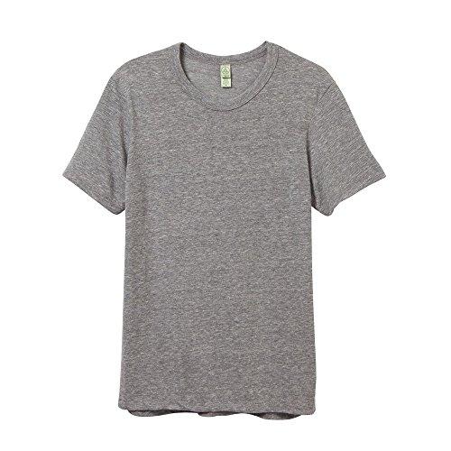 Alternative T-Shirt à col Rond pour Homme M Gris éco