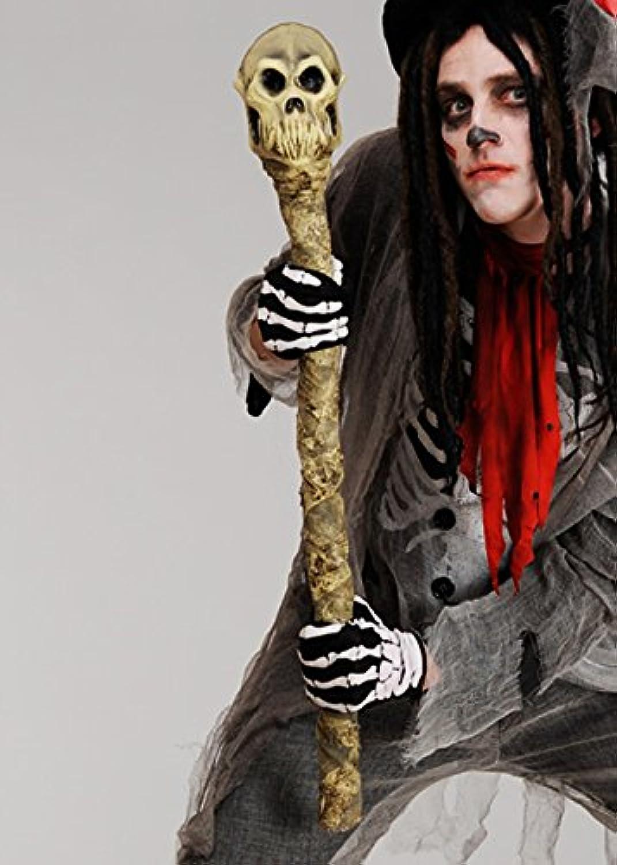 Magic Box Int. Deluxe Voodoo-Hexe-Doktor-Schädel-Personal B07B8C5T2N Moderater Preis    | Erschwinglich