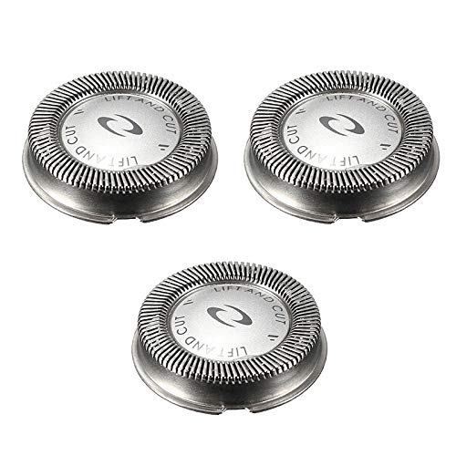 HQ56 Replacement Shaver Head compatible with Philips Norelco HQ56 Replacement Shaving Heads 3 Pcs(Amazon Selection)