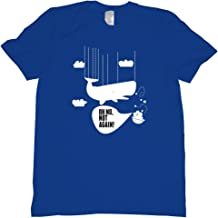 Hitchiker's Guide to The Galaxy Whale Drops Out of The Sky Tee Shirt
