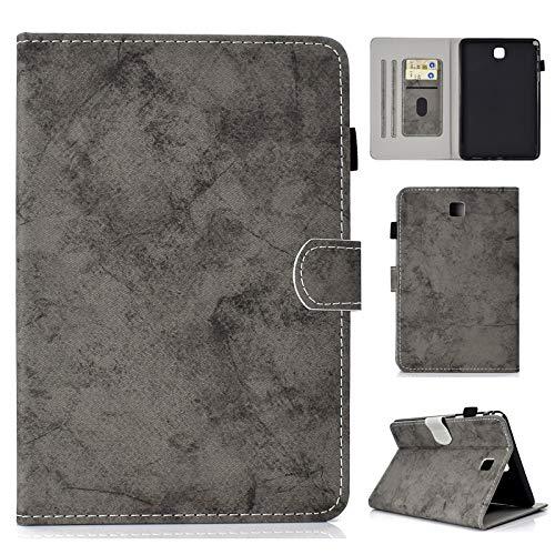 Para Samsung Galaxy Tab A 8.0 pulgadas SM-T350   SM-T355C 2015 Lanzamiento, Hebilla magnética Tela Textura PU Funda para tableta Soporte de tableta Funda elegante con reposo automático   activación y