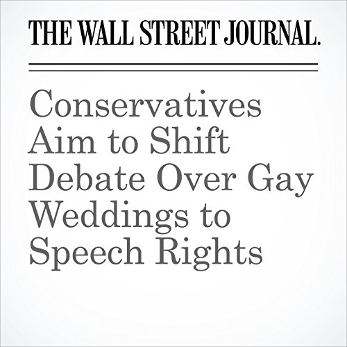 Conservatives Aim to Shift Debate Over Gay Weddings to Speech Rights copertina