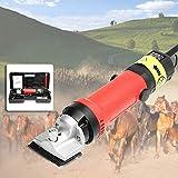 XBSXP tondeuse voor paarden professionele 690W & 6 standen verstelbare tondeuse voor dieren paardenverzorging Accessoires voor boerderijdieren paarden kamelen koeien geiten alpaca's Hond