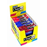 Chap-Ice | Premium and Traditional Lip Balm for Chapped, Dry, or Windburned Lips | 3 Flavor Assorted Display - Cherry SPF-4, Original SPF-4, Watermelon - 24 Sticks (0.15oz/4.25g)