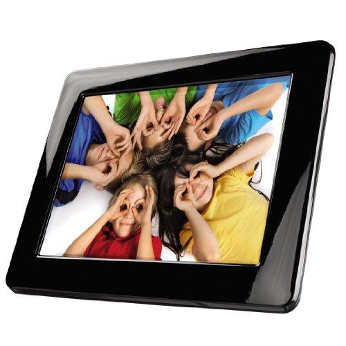 Hama Zero Digitaler Bilderrahmen (20,3 cm (8 Zoll) Display, Diashow, Kartenslot, USB 2.0)