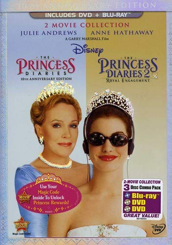 Princess Diaries Two Movie Collection Three Disc