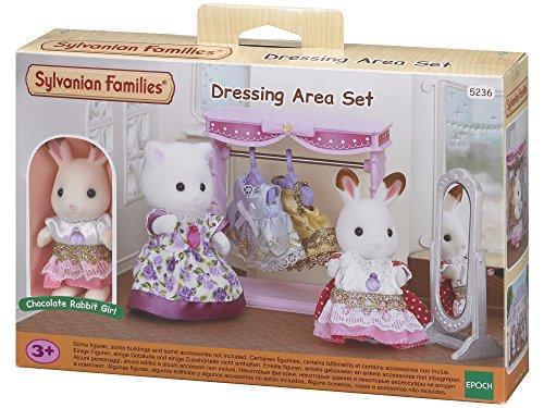 Sylvanian Families - Le Village - Le Dressing et Figurine - 5236 - Commerce - Mini Poupées