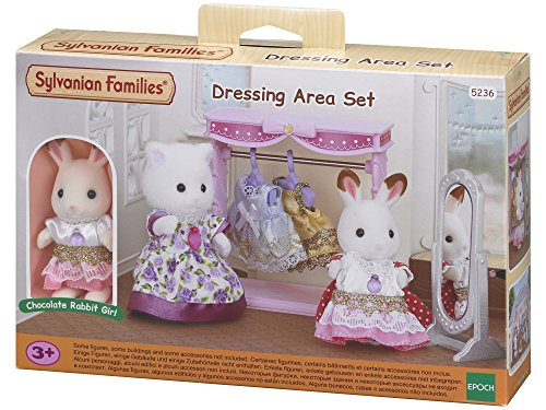 Sylvanian Families - Le Village - Le Dressing et Figurine - 5236 - Commerce - Mini Poupées
