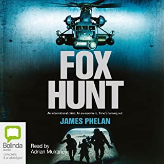 Fox Hunt audiobook cover art