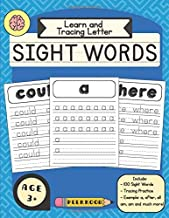 Learn and Tracing Letter: Sight Words (Handwriting Practice)