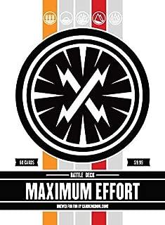 Maximum Effort Battle Deck. Magic The Gathering Preconstructed Blue Green Deck. 60 Cards.