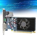 Zunate Tarjeta gráfica HD6450, gráficos 2G 64bit DDR3, Temperatura de Trabajo más Baja con Ranura PCI Express 3.0, para computadora de Escritorio