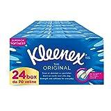 Kleenex Original Box Pañuelos 24 cajas de 70 pañuelos