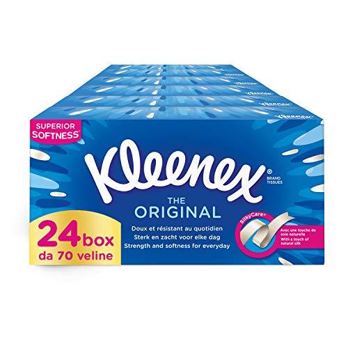 Kleenex Original Box Fazzoletti, 24 Box da 70 Fazzoletti