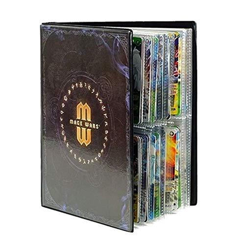 Raccoglitore porta carte Pokemon compatibile Scambiare buste per carte collezionabili GX EX Trainer Cards Album 20 pagine possono contenere fino a 160 carte
