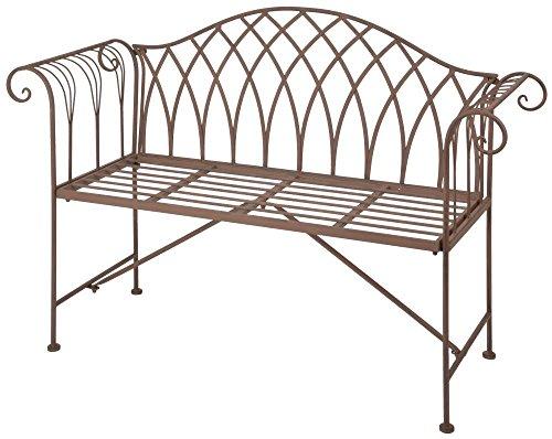 Esschert Design Banc de Jardin en métal