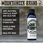 Beard Grooming Care Kit for Men by Mountaineer Brand   Beard Oil (2oz), Conditioning Balm (2oz), Wash (4oz), Brush… 6