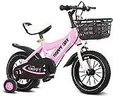 Ligera bicicleta de equilibrio para niños pequeños 12 14 16 bicicletas pulgadas niños con ruedas de entrenamiento de 2-7 años edad niñas de 14 pulgadas, bicicletas for niños pequeños con un 85% montad