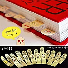 Sticker Seal - 2 200 Pages Ten Fingers Sticker Bookmark Tab Flags Memo Marker Sticky Notes Fridge - School Book Whiteboard Kawaii Pen Notepad Notepad Cat Whiteboard Bookmark Memo Capacitor Ma