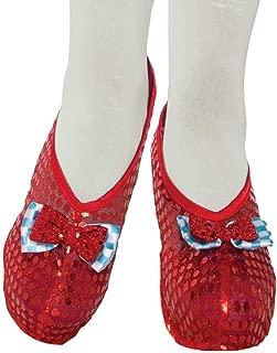 Forum Novelties Farm Girl Shoe Covers, Red, Standard