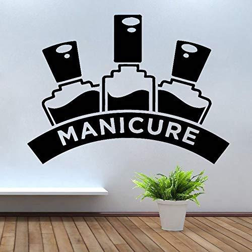 Tianpengyuanshuai wandstickers, manicure, pedicure, schoonheidssalon, wanddecoratie, wandsticker, wandsticker, decoratie voor thuis, meisjes en kamer