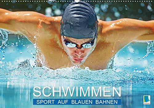 Schwimmen: Sport auf blauen Bahnen (Wandkalender 2020 DIN A2 quer)