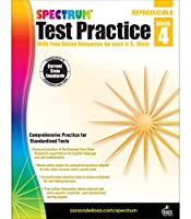 Spectrum Test Practice, Grade 4: With Free Online Resources for Each U.s. State