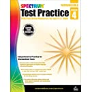 Spectrum Grade 4 Test Practice Workbook—4th Grade Math and English Language Arts Reproducible, Practice for Standardized Tests With Answer Key (160 pgs)