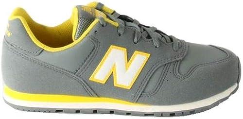 New Balance 373 Kids (KJ373RTY) Grey/Yellow Sneaker Ginnastica ...