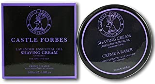 Castle Forbes Lavender Shaving Cream (200 ml) by Castle Forbes