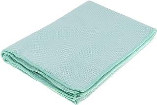 Baoblaze 183 x 63 cm Yoga Mat Towel Microfiber Hot Yoga Dance Mat Sweat Absorbent Soft Blanket with Carry Bag