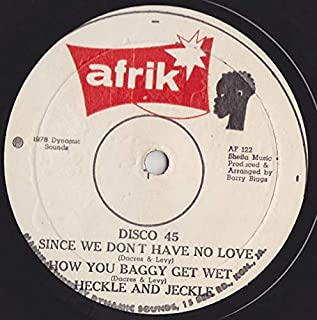 We Don`t Know (Stereophonics) b/w Since We Don`t Have No Love (Heckle & Jeckle), How You Baggy Get Wet (Heckle & Jeckle)