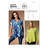 Butterick Patterns 5999 WMN - Patrones de Costuras de Blusas