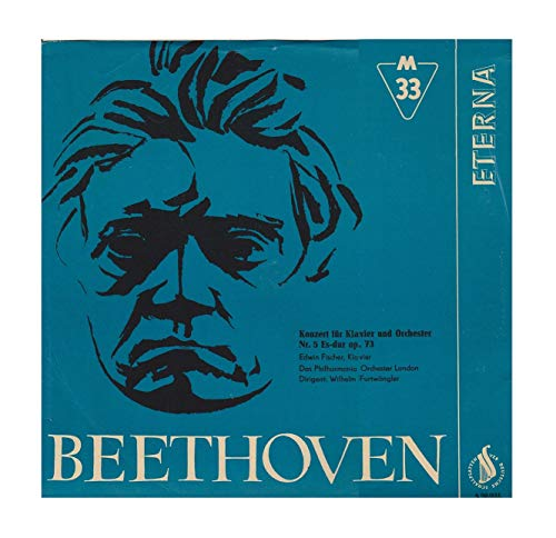 Beethoven - Konzert für Klavier u. Orchester Nr. 5 Es-dur op.73, Hannes Kann Klavier, Niederländisches Philharmonisches Orchester, Dirigent: Otto Ackermann,