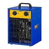 MSW Generador De Aire Caliente Eléctrico MSW-CHEH-3300 (3.300 W, Rango de Temperatura 0–85 °C, Función Ajuste de Temperatura automático)