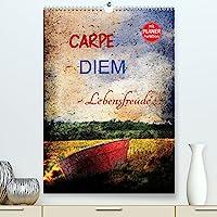 Carpe diem - Lebensfreude (Premium, hochwertiger DIN A2 Wandkalender 2022, Kunstdruck in Hochglanz): Farbige Fotocollagen zum Thema Carpe diem - Lebensfreude. (Geburtstagskalender, 14 Seiten )