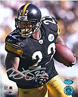 Autograph Warehouse 5932 Duce Staley Pittsburgh Steelers Autographed 8 x 10 Photo Vertical