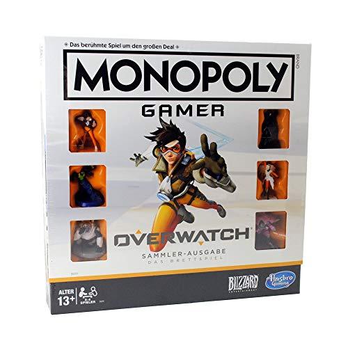 Overwatch Monopoly Gamer Gaming Juego de mesa Juego de mesa Alemán