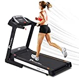 PowerMax Fitness TDA-111 2HP (4HP Peak) Motorized Treadmill with Free Installation Assistance, Home