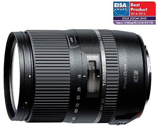 TAMRON B016 - 16-300 mm F/3rd 5-6, 3 Di II VC PZD - objetivo para Nikon + DSL102 - bolsa para objetivo