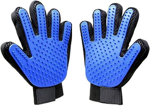 HKBTCH Pet Bürste Handschuh, 2 PCS Hochwertiger Fellpflege-Handschuh,Entfernen Hunde Und Katzenhaare|Hair Für Möbel Und Kleidung,Verwendet Für Haustiere Reinigung Und Massage Schönheit