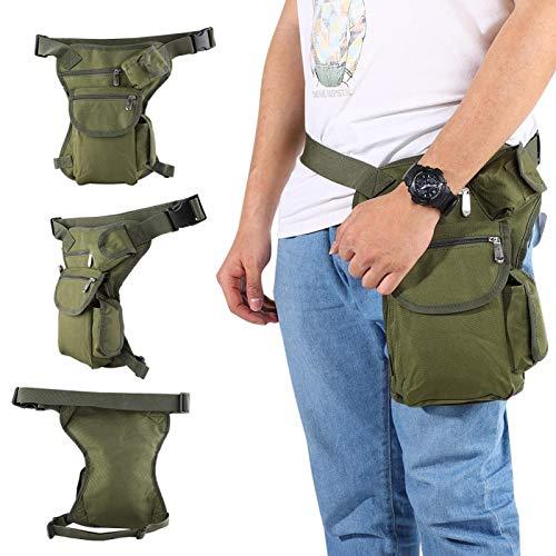 Riñonera Hicking Riñonera de escalada Durable Impermeable Ligero, para viajes, senderismo, para hombres y mujeres(ArmyGreen)