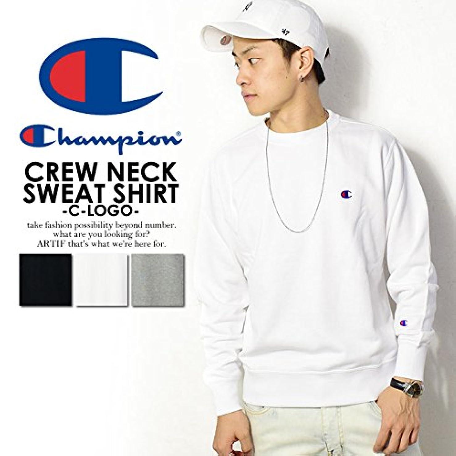 スカリー純粋にアラート(チャンピオン)CHAMPION CREW NECK SWEAT SHIRT -C-LOGO- c3-c019