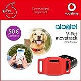 V-Pet movetrack by Vodafone - Echtzeit LIVE GPS Tracker für Hunde und Katzen + 50€ Cashback