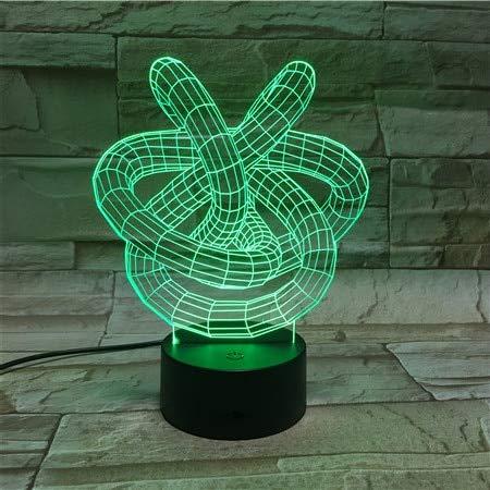 Lámpara Lava Color Creativo luz Nocturna decoración