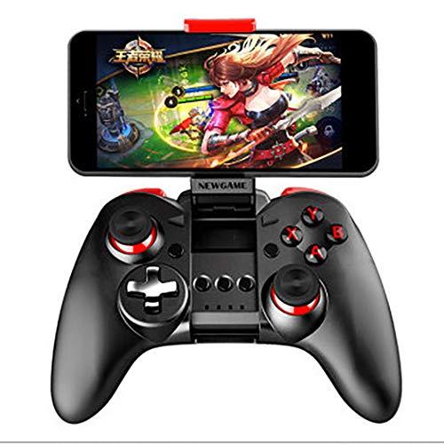 RAPLONC Contrôleur Mobile, contrôleur de Manette de Jeu Mobile sans Fil Compatible avec Bluetooth, contrôleurs de Jeu, Pince de Jeu Extensible Rechargeable avec Manette de Jeu