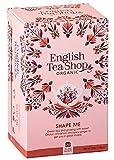 English Tea Shop Té de hierbas modelado orgánico a base de té verde con canela y ginseng...